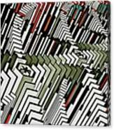 Dominos Canvas Print