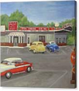 Don Carlos Drive Inn Canvas Print