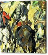 Don Quixote, View From The Back Canvas Print
