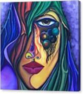 The Admirer - Scar Series 4 Canvas Print