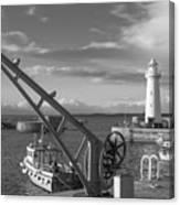 Donaghadee Fishing Wharf Canvas Print