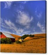 Done With Harvest Canvas Print