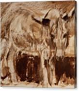 Donkey Daze Canvas Print