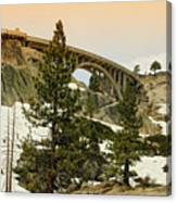 Donner Canvas Print