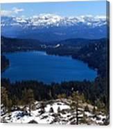 Donner Lake Canvas Print