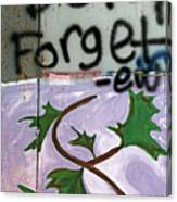 Dont Forget Canvas Print