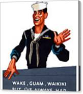 Don't Miss Your X-ray - Ww2 Canvas Print