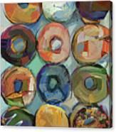 Donuts Galore Canvas Print
