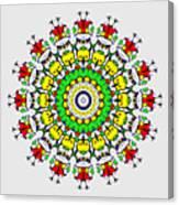 Doodle Mandala Canvas Print