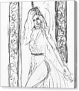 Doodleher Canvas Print