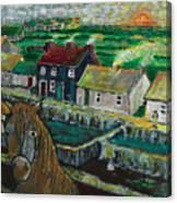 Doolin Ireland Sunset Canvas Print