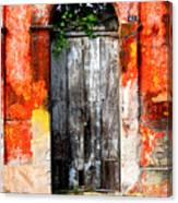 Door At The Red Corner By Darian Day Canvas Print