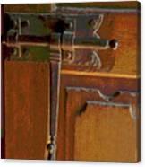 Door Bolt Canvas Print