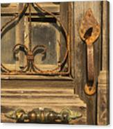 Door Handle Canvas Print