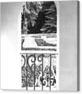 Door In The Labirinth Canvas Print
