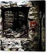 Door Of Rock Canvas Print