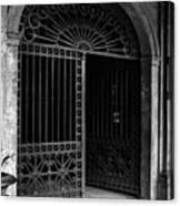 Door Of The Cabildo Canvas Print