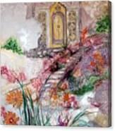 Door To Mysteries Canvas Print