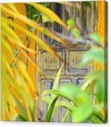 Door To Paradise Canvas Print