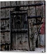 Door Within A Door Canvas Print