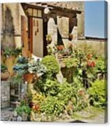 Little Paradise In Tuscany/italy/europe Canvas Print
