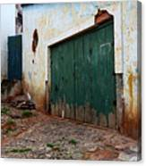 Doors And Windows Lencois Brazil 10 Canvas Print