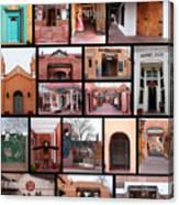 Doors Of Albuquerque Canvas Print