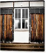 Doors Of Dachau Canvas Print