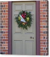 Doors Of Williamsburg 106 Canvas Print
