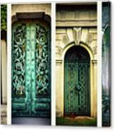 Doors Of Woodlawn Canvas Print