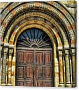 Doors To Holiness Canvas Print