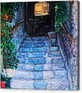 Doorsteps Canvas Print