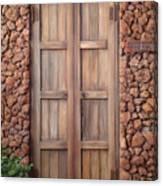 Doorway Steps Back In Time Canvas Print