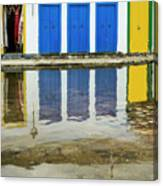 Doorways In Paraty  Canvas Print