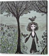 Ninas Garden Canvas Print
