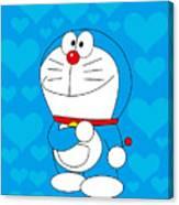 Doraemon Canvas Print