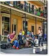 Doreen's Jazz New Orleans 2 Canvas Print