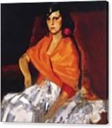 Dorita 1923 Canvas Print