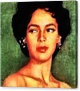 Dorothy Dandridge, Vintage Hollywood Legend Canvas Print
