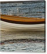 Dory At Low Tide Canvas Print