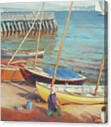 Dory Beach Canvas Print