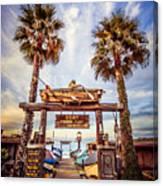 Dory Fishing Fleet Market Picture Newport Beach Canvas Print
