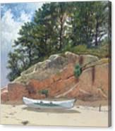 Dory On Dana's Beach Canvas Print
