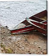 Dos Barcos Canvas Print