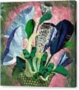 Dot Bouquet Canvas Print