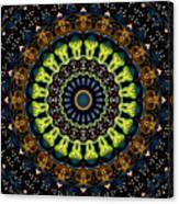 Dotted Wishes No. 3 Kaleidoscope Canvas Print