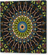Dotted Wishes No. 4 Kaleidoscope Canvas Print