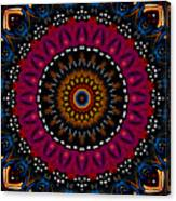 Dotted Wishes No. 5 Kaleidoscope Canvas Print
