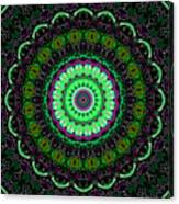 Dotted Wishes No. 6 Kaleidoscope Canvas Print