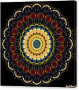 Dotted Wishes No. 6 Mandala Canvas Print